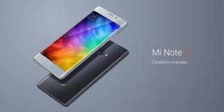 Xiaomi annonce le Mi Note 2 incurvé, 100 % compatible avec la 4G européenne