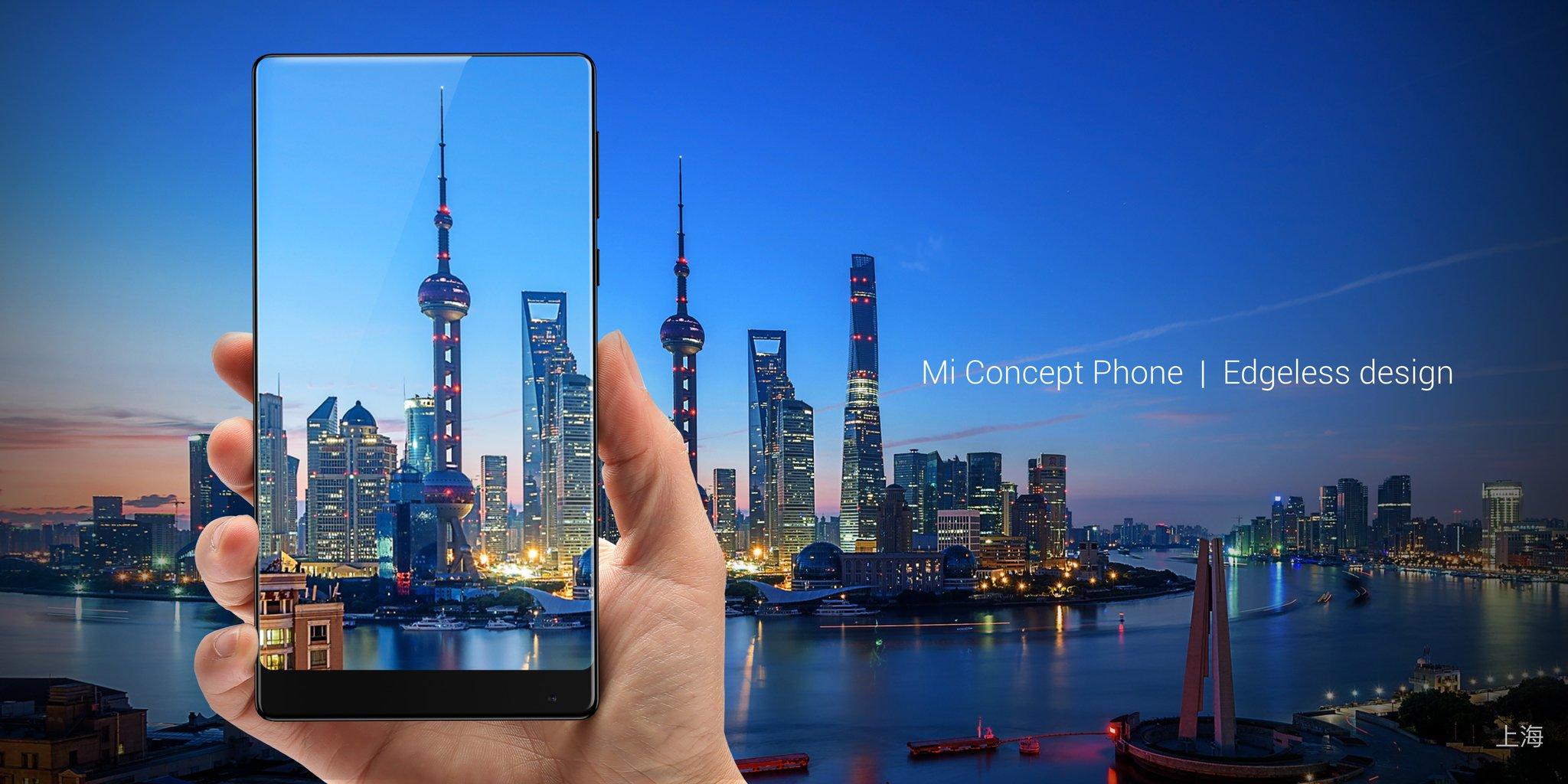 Le Xiaomi Mi MIX sans bordures sera bientôt proposé en blanc