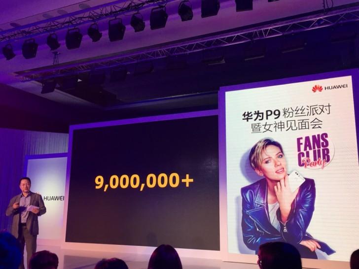 Huawei P9 : 9 millions d'unités vendues, un succès pour la marque chinoise