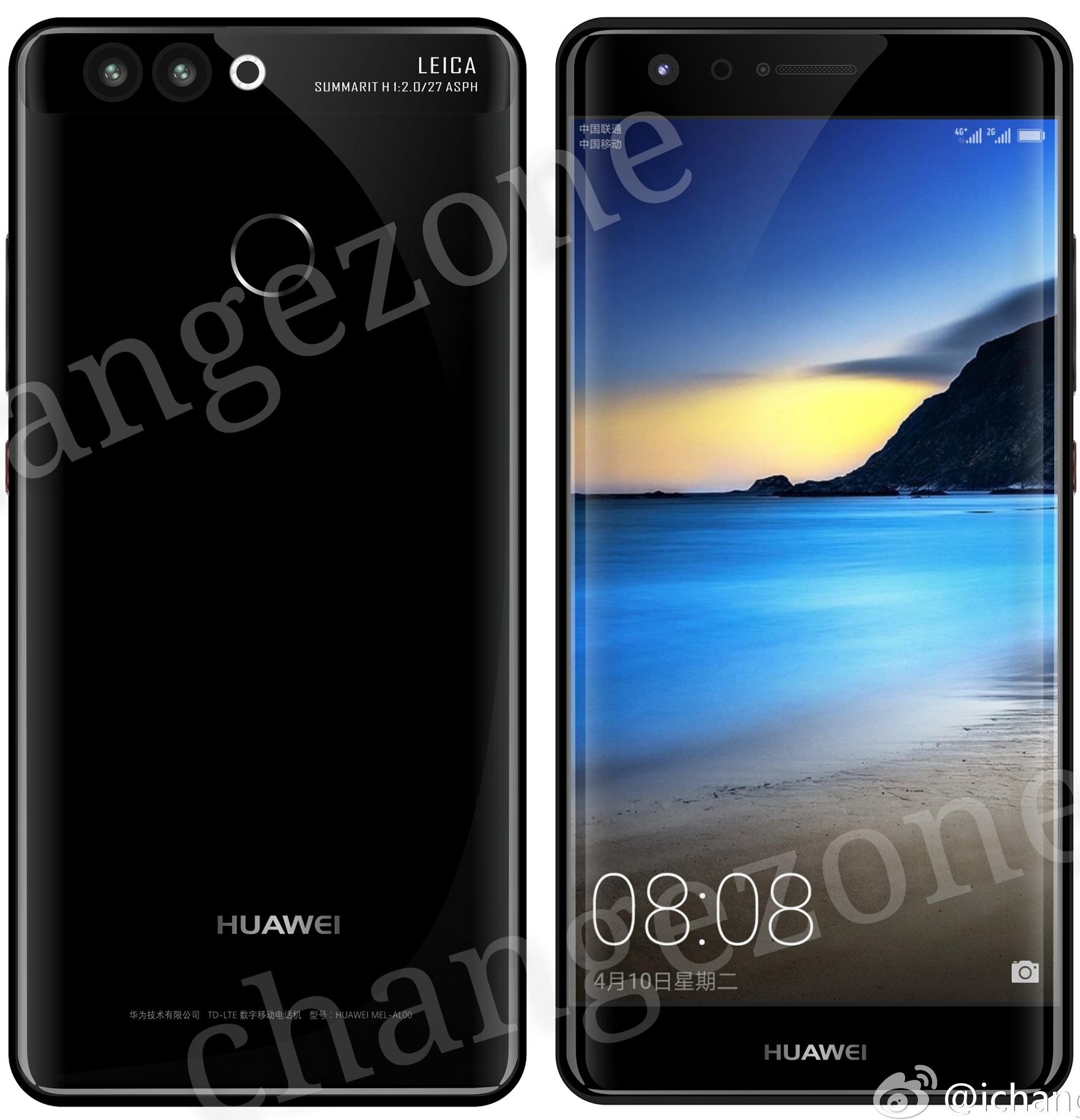 Le Huawei P10 pourrait être accompagné d'un chargeur sans fil et d'un écran incurvé