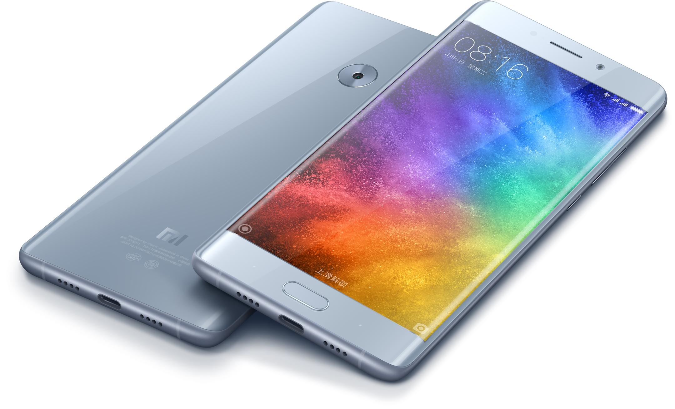 Le Xiaomi Mi Note 2 aurait le droit à une déclinaison avec écran plat