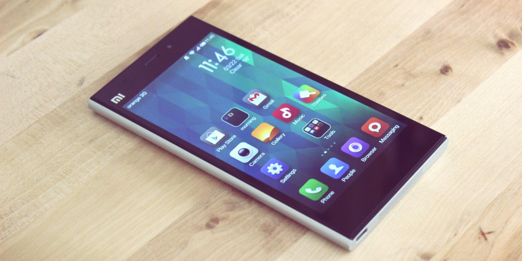 Xiaomi ne fait aucun bénéfice sur la vente de ses smartphones