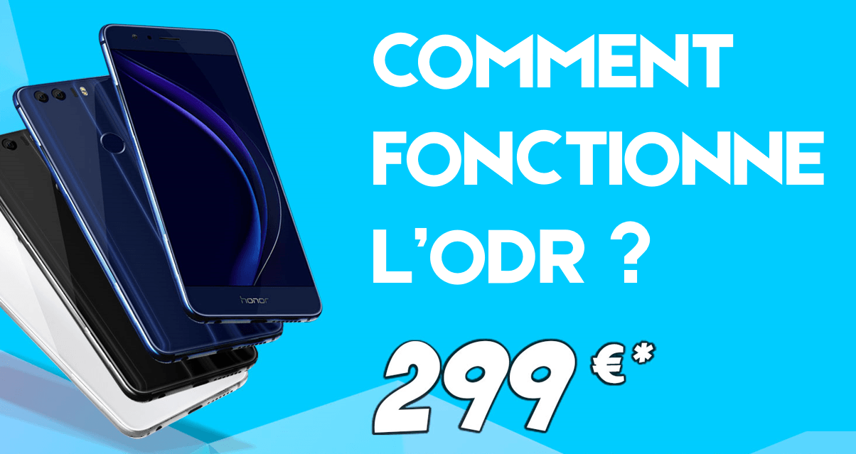 Honor 8 : comment fonctionne l'ODR de 50 euros du Black Friday ?