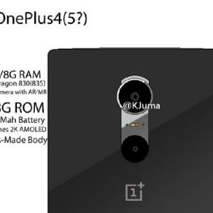 OnePlus 4 : les premiers détails évoqués