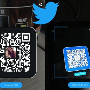 Twitter lance le QR Code pour suivre un profil comme Snapchat