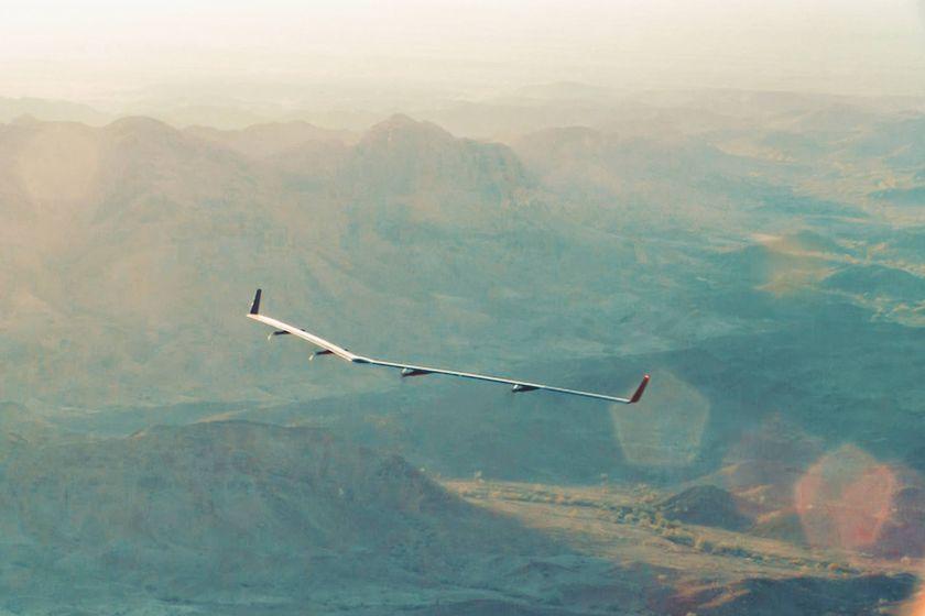 Le drone Aquila de Facebook s'est crashé à cause de vents violents