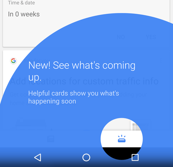 Google : l'application de recherche divise ses cartes en deux catégories
