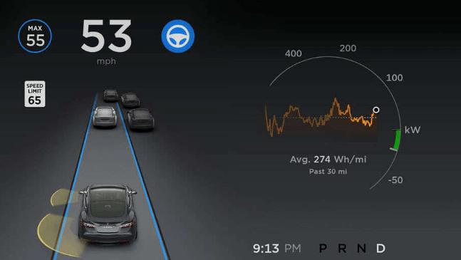 Le pilote automatique des Tesla respecte désormais les limitations de vitesse