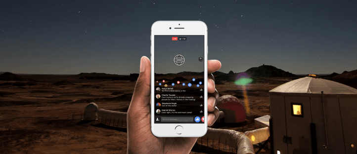Facebook se met aux vidéos en direct à 360 degrés