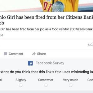 Facebook va demander à ses utilisateurs de détecter les actualités aux titres les plus trompeurs