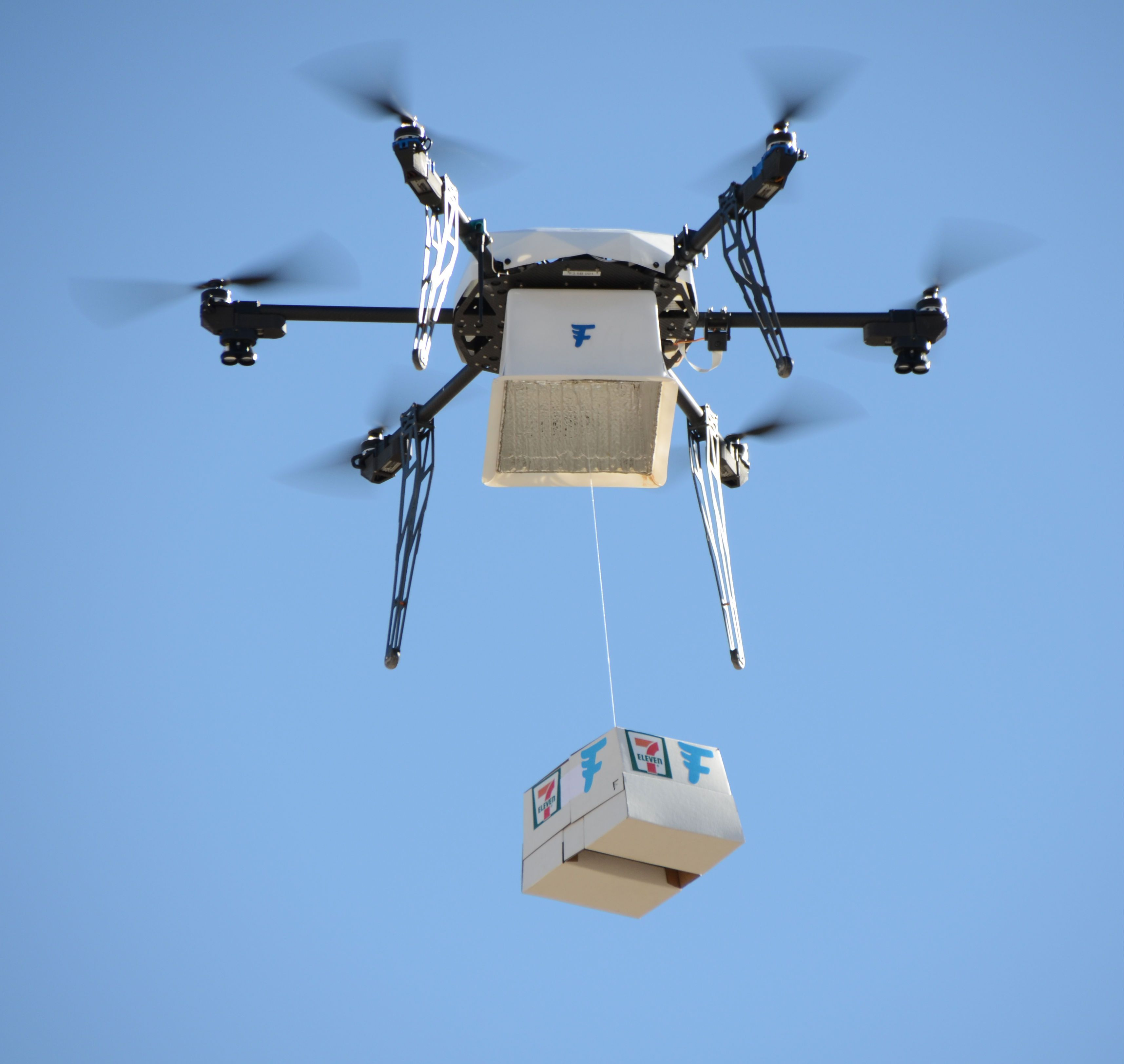 7-Eleven : aux Etats-Unis, l'enseigne a déjà effectué 77 livraisons par drone
