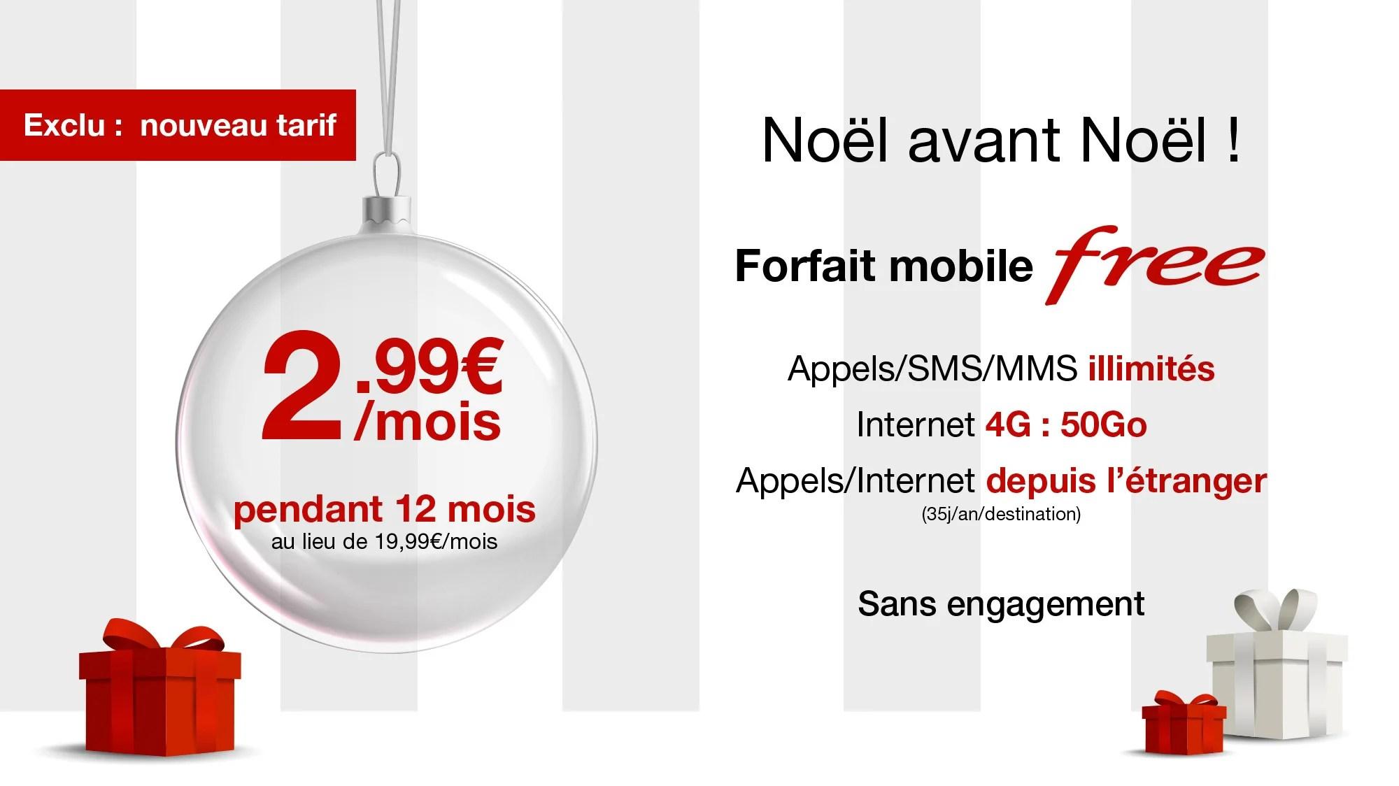 Forfait Free Mobile à 2,99 euros : on peut désormais ouvrir une nouvelle ligne sans portabilité