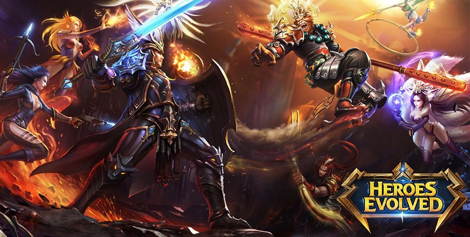 Heroes Evolved : le MOBA de R2 Games est disponible sous Android