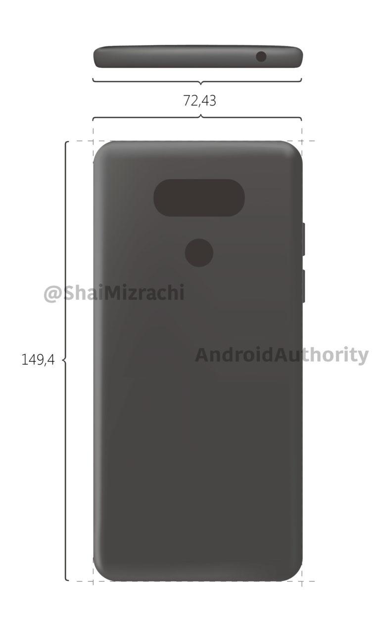 LG G6 : un premier rendu montre un design très proche du G5