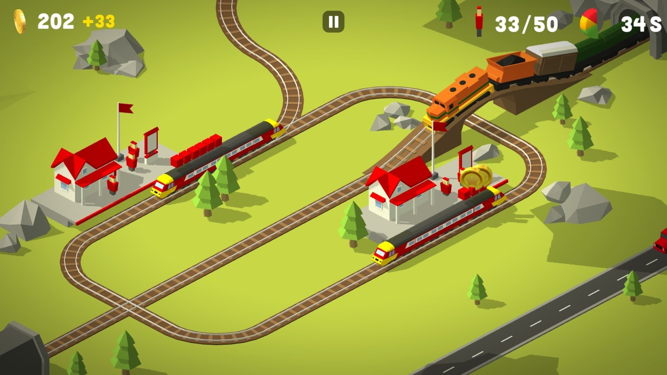 Conduct THIS! le nouveau jeu de train addictif disponible sur le Play Store