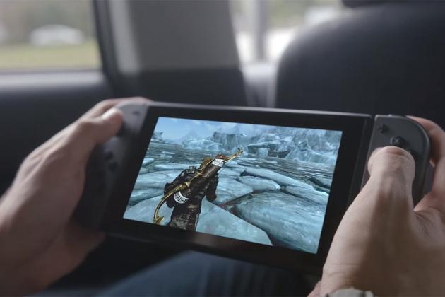 La batterie de la Nintendo Switch est non amovible