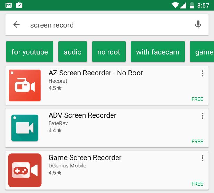 Google Play Store : des suggestions pour affiner nos recherches