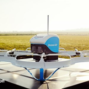 Amazon Prime Air : les premiers drones autonomes décollent déjà en Angleterre
