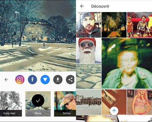 Prisma abandonne le format carré et se rapproche d'Instagram