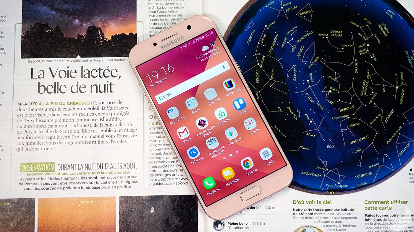 Le Samsung Galaxy A5 (2018) aperçu dans un benchmark et devrait embarquer Bixby