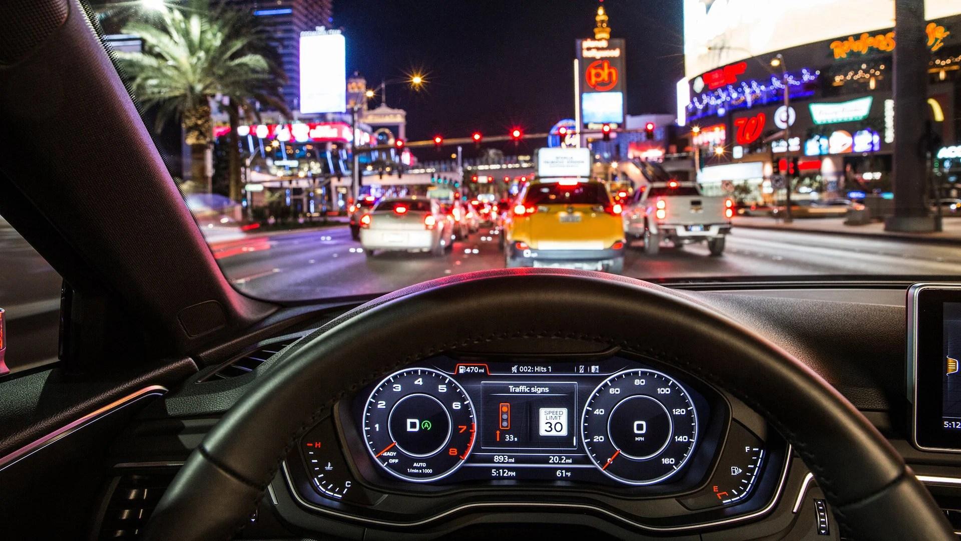 Avec les nouvelles Audi, plus besoin de s'arrêter aux feux rouges
