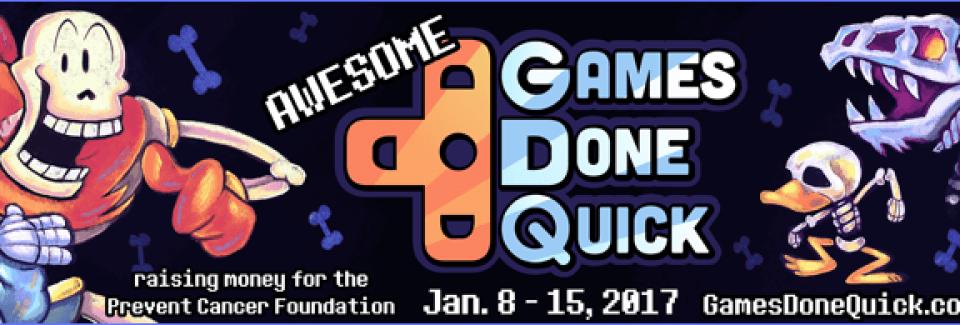 Comment suivre le plus grand marathon de jeux vidéo, l'Awesome Games Done Quick (AGDQ)