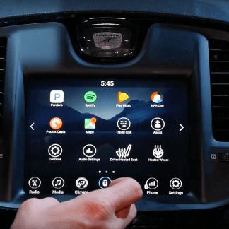 CES 2017 : nous avons discuté avec Google Assistant sous Nougat dans une Chrysler 300