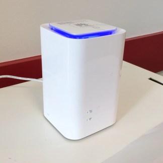 Prise en main de la 4G box de Bouygues Telecom, Internet très haut débit sans la fibre