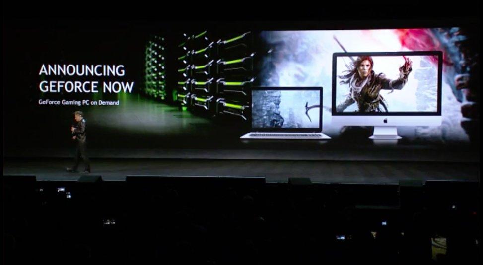 CES 2017 : Le service de cloud gaming de Nvidia, Geforce Now, arrive sur PC & Mac
