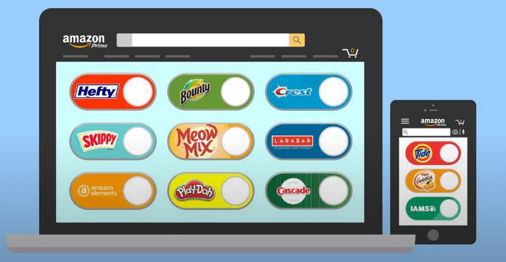 Amazon Dash : les boutons d'achat désormais virtuels sur nos smartphones