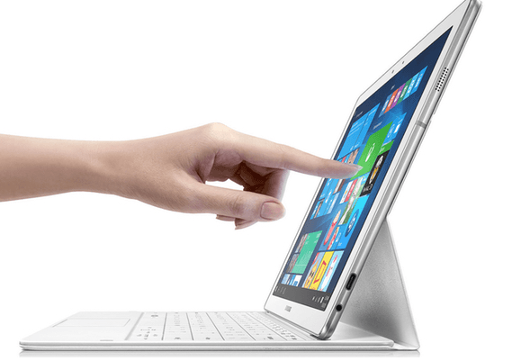Samsung : sa tablette sous Windows 10 se rapproche