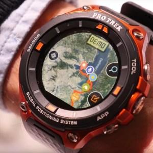 Prise en main de la montre Casio Smart Outdoor Watch sous Android Wear 2.0
