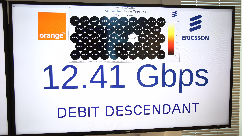 En 5G, Orange atteint 15 Gbps, et nous en avons été témoin