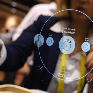 CES 2017 : Miliboo Ekko, un miroir sous Android avec un écran OLED