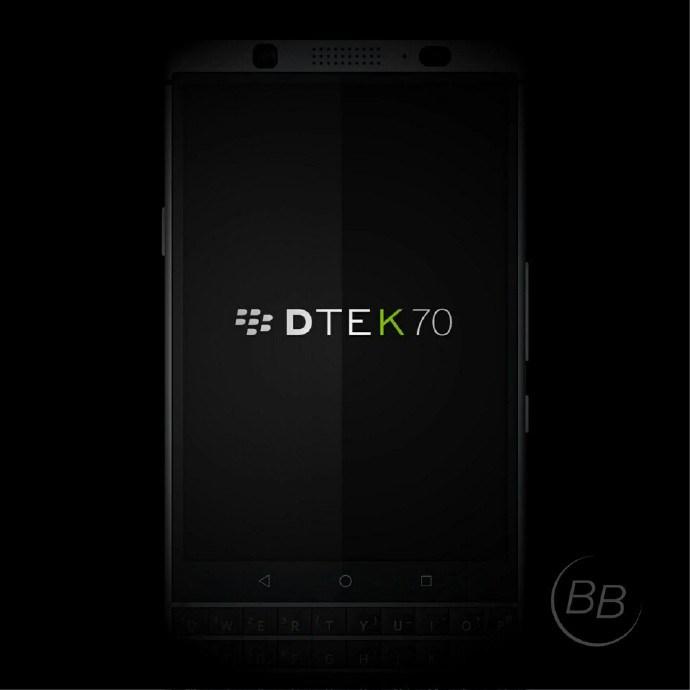 CES 2017 : Le DTEK 70 révélé avant la conférence de Blackberry