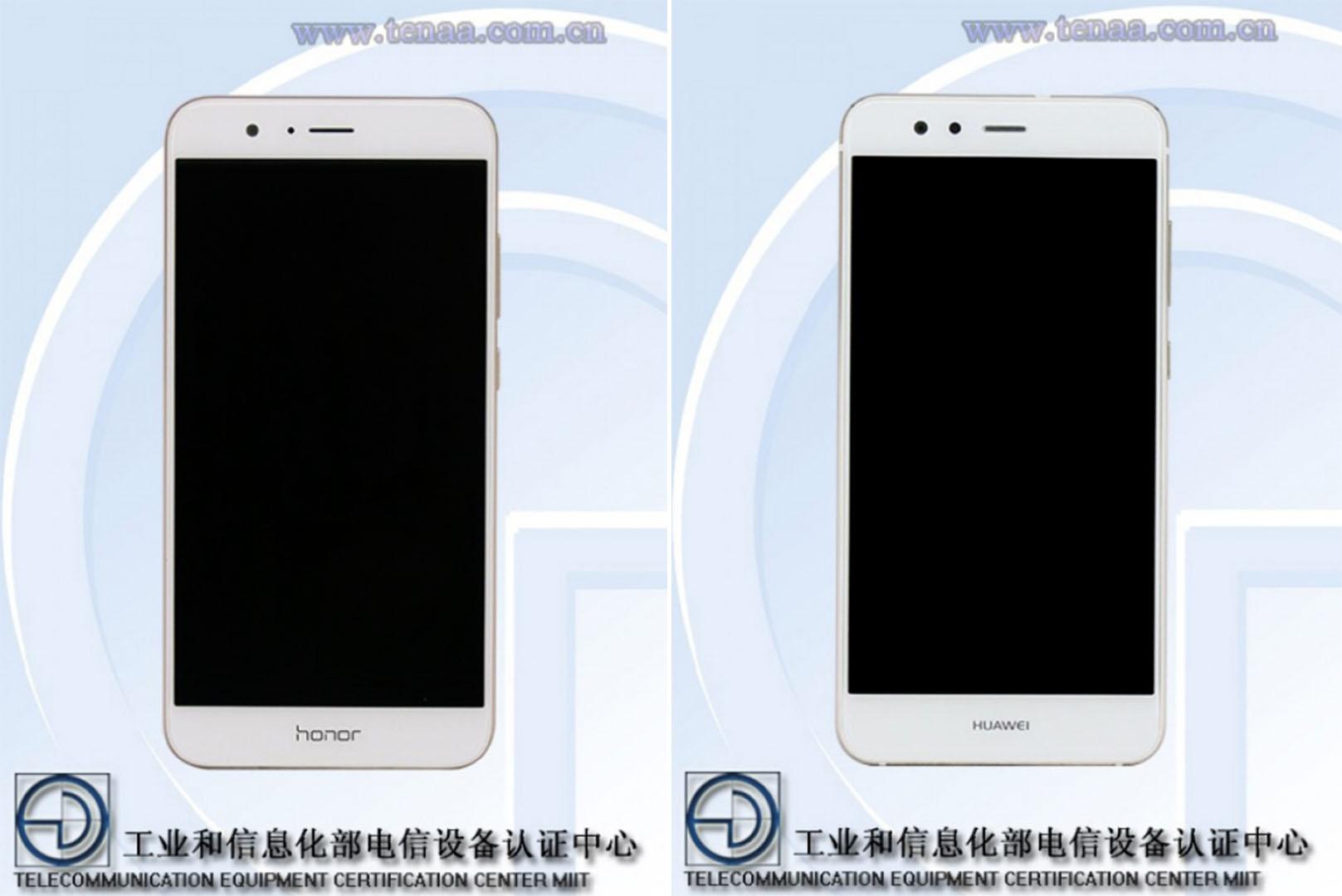 De nouveaux smartphones Huawei et Honor certifiés par la TENAA en Chine