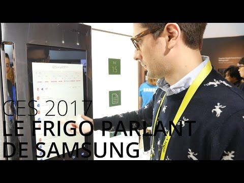 Prise en main du Samsung Family Hub 2.0, le frigo sous Tizen 3.0 doté des technologies du Galaxy S8