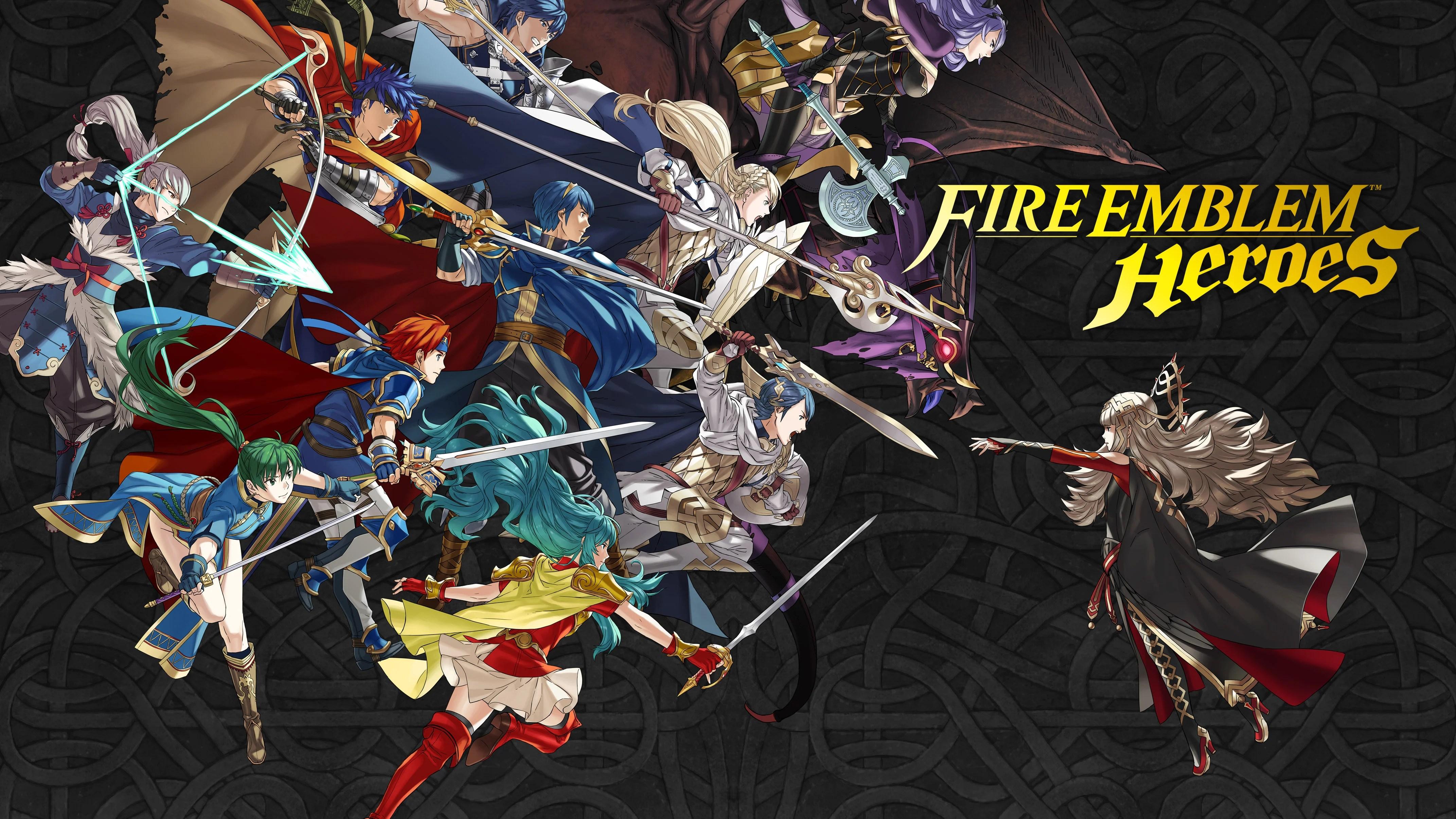 Fire Emblem Heroes sera gourmand en espace disque