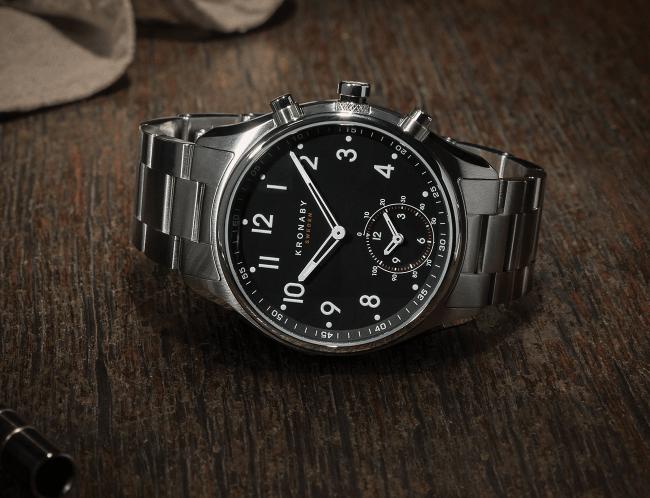 Deux ans d'autonomie pour les nouvelles smartwatchs hybrides de Kronaby