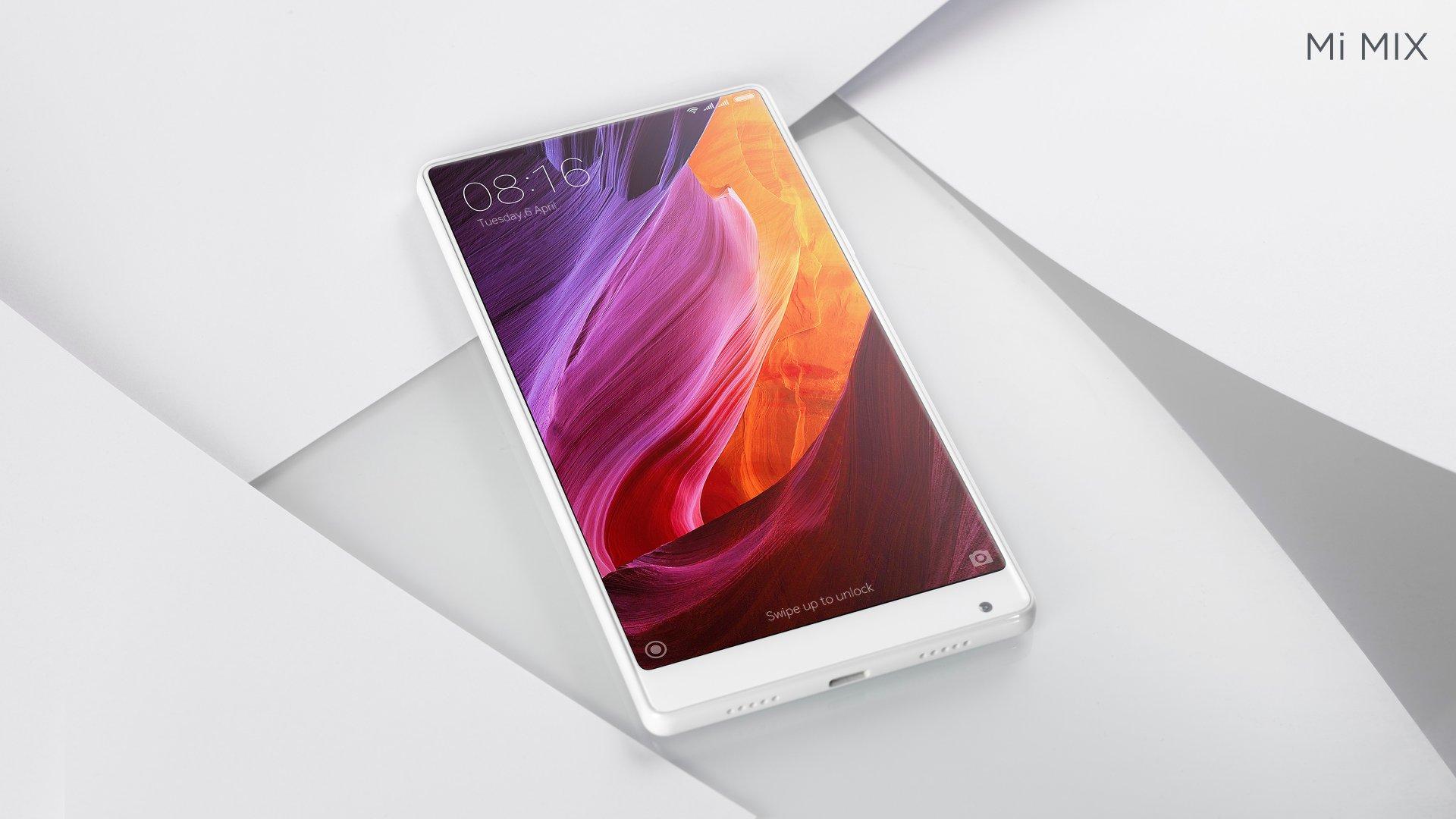CES 2017 : Xiaomi annonce un Mi Mix Blanc, mais pas chez nous