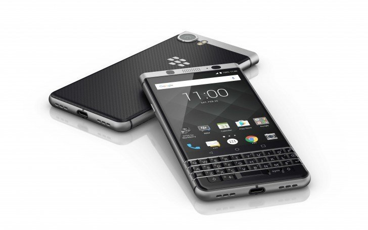 BlackBerry KEYone : le grand retour du clavier physique sur Android – MWC 2017