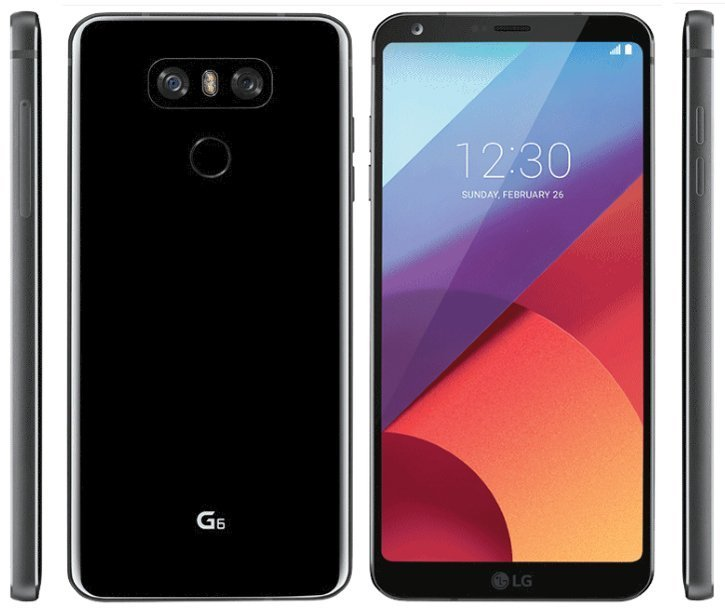 LG G6 : le smartphone borderless officialisé au MWC 2017