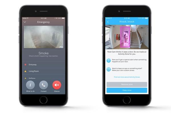 Surveillez vos portes à distance grâce à l'application Nest