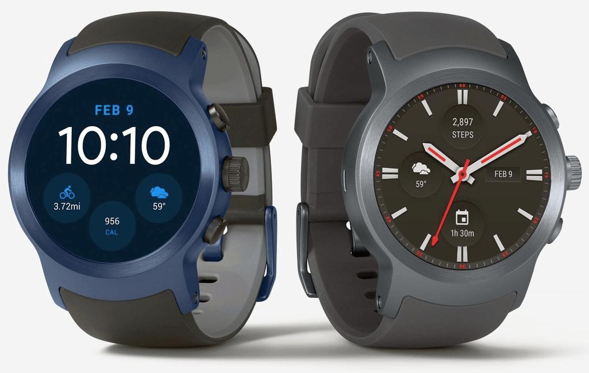 La LG Watch Sport se montre dans un nouveau rendu