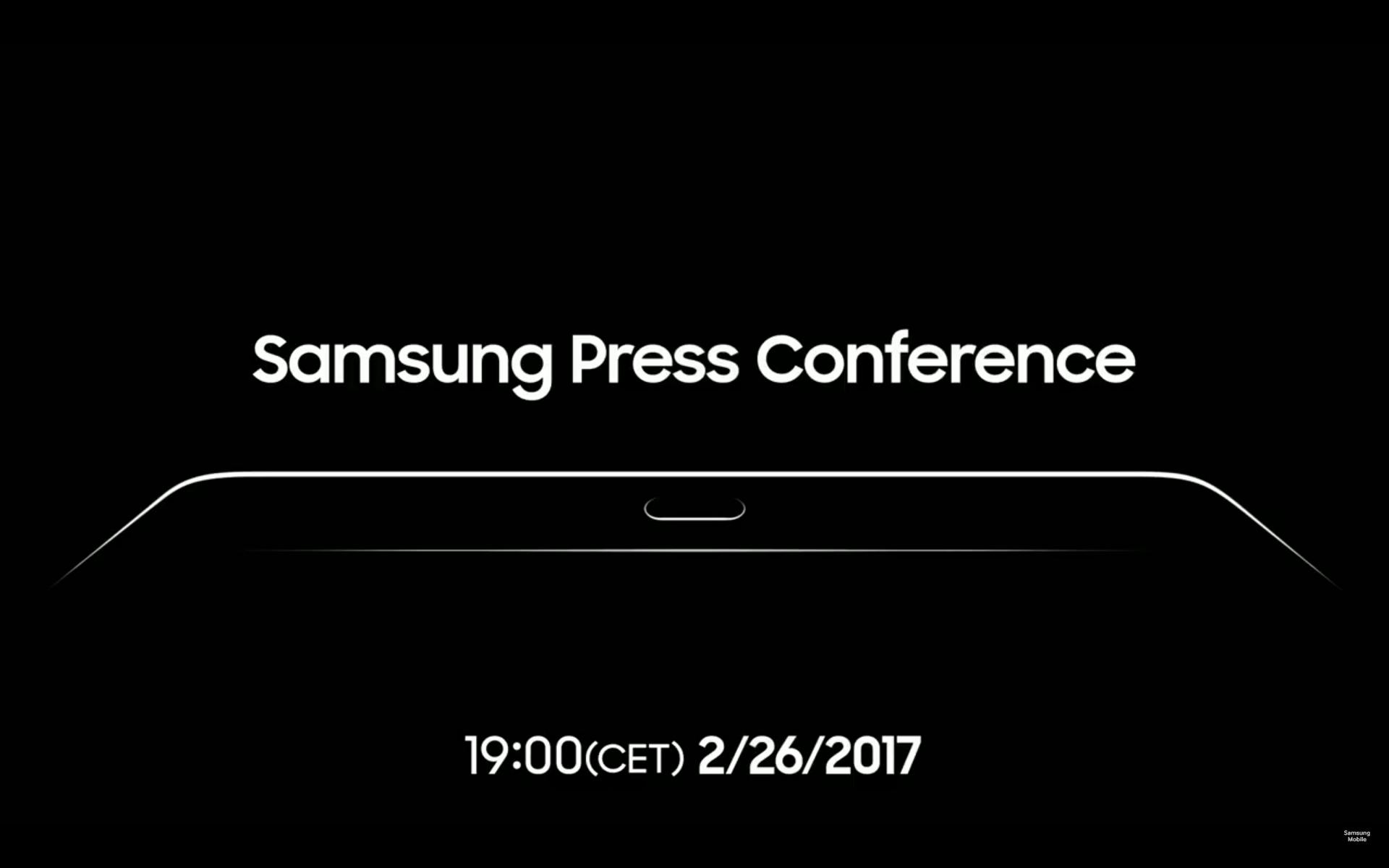 Samsung au MWC 2017 : suivez la conférence en direct
