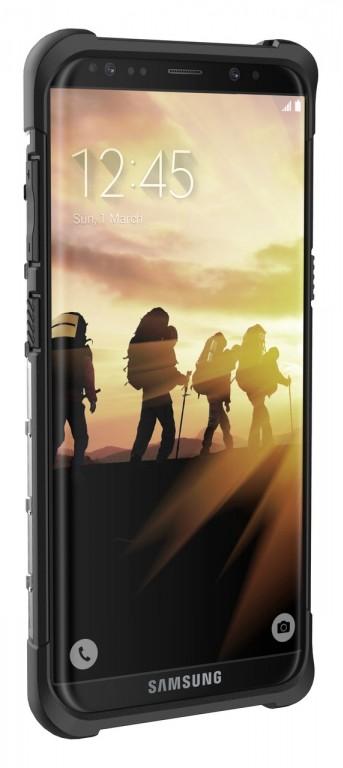 Des coques du Samsung Galaxy S8 confirment le capteur d'Iris et un bouton réservé à Bixby