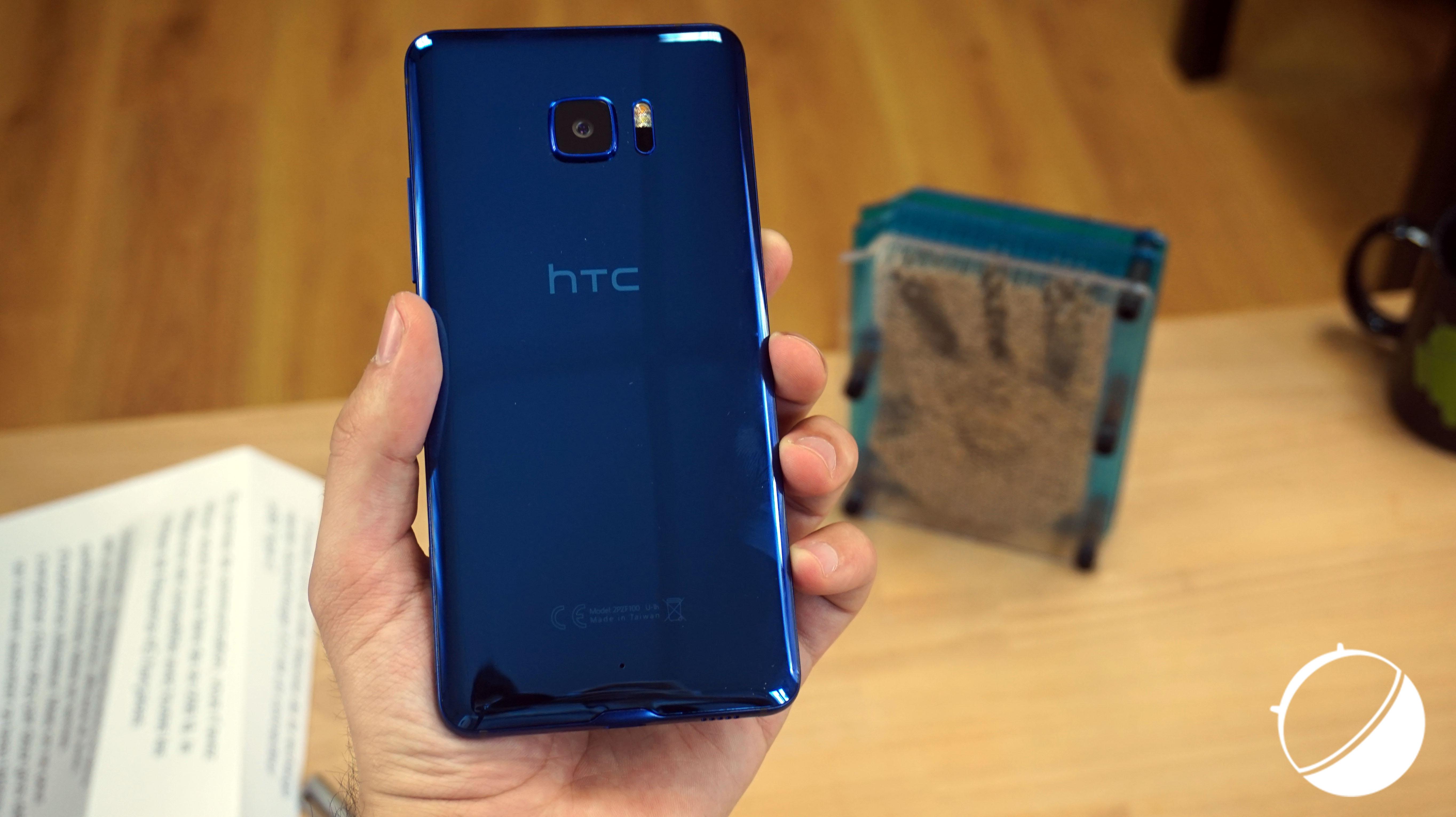 La «surprise » de HTC est un HTC U Ultra plus résistant