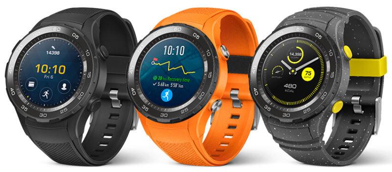 Huawei Watch 2 : un design très différent du premier modèle