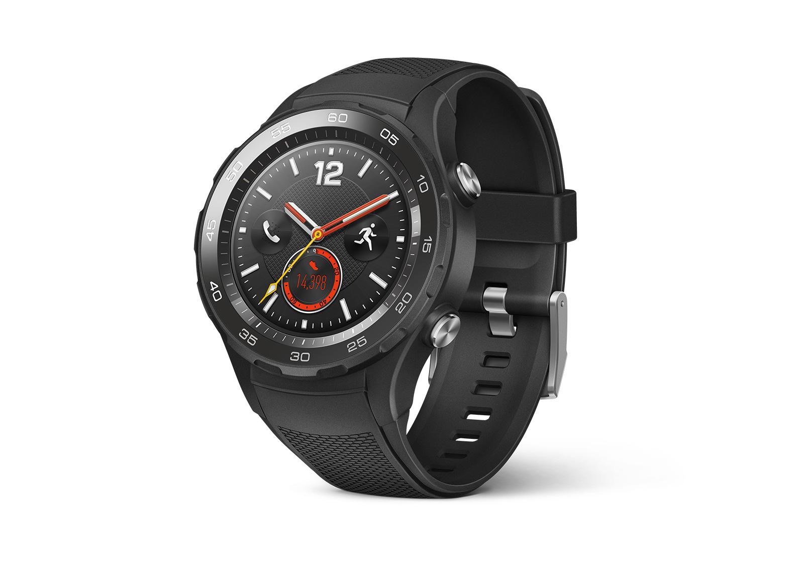Huawei Watch 2 : la montre 4G autonome officialisée au MWC 2017