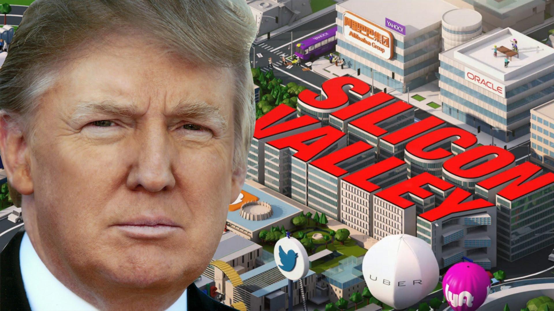 Apple, Google, Microsoft, Facebook, Uber s'unissent pour écrire à Donald Trump